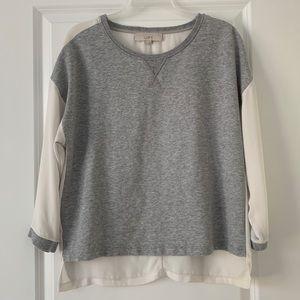 Loft sheer back sweater